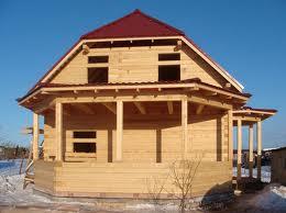 Строительство деревянного коттеджа, преимущества и недостатки.