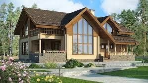 Из чего построить загородный домик