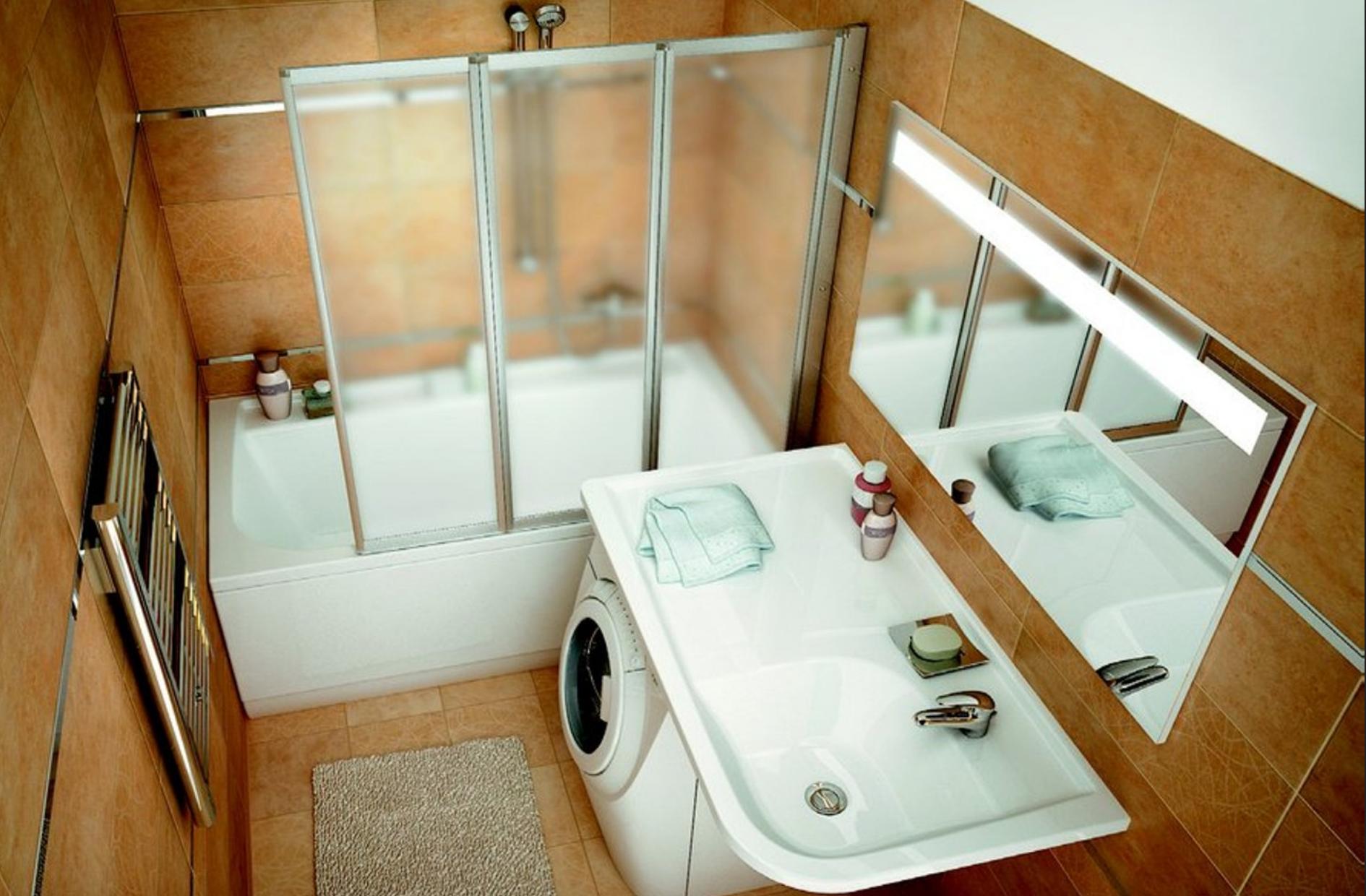 Мебель для ванной комнаты — фото новых идей