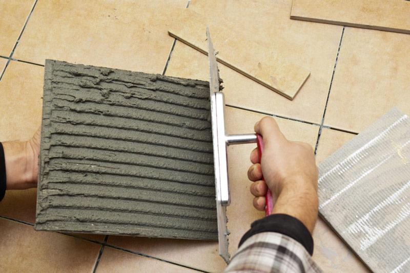 Технология облицовки стен керамической плиткой