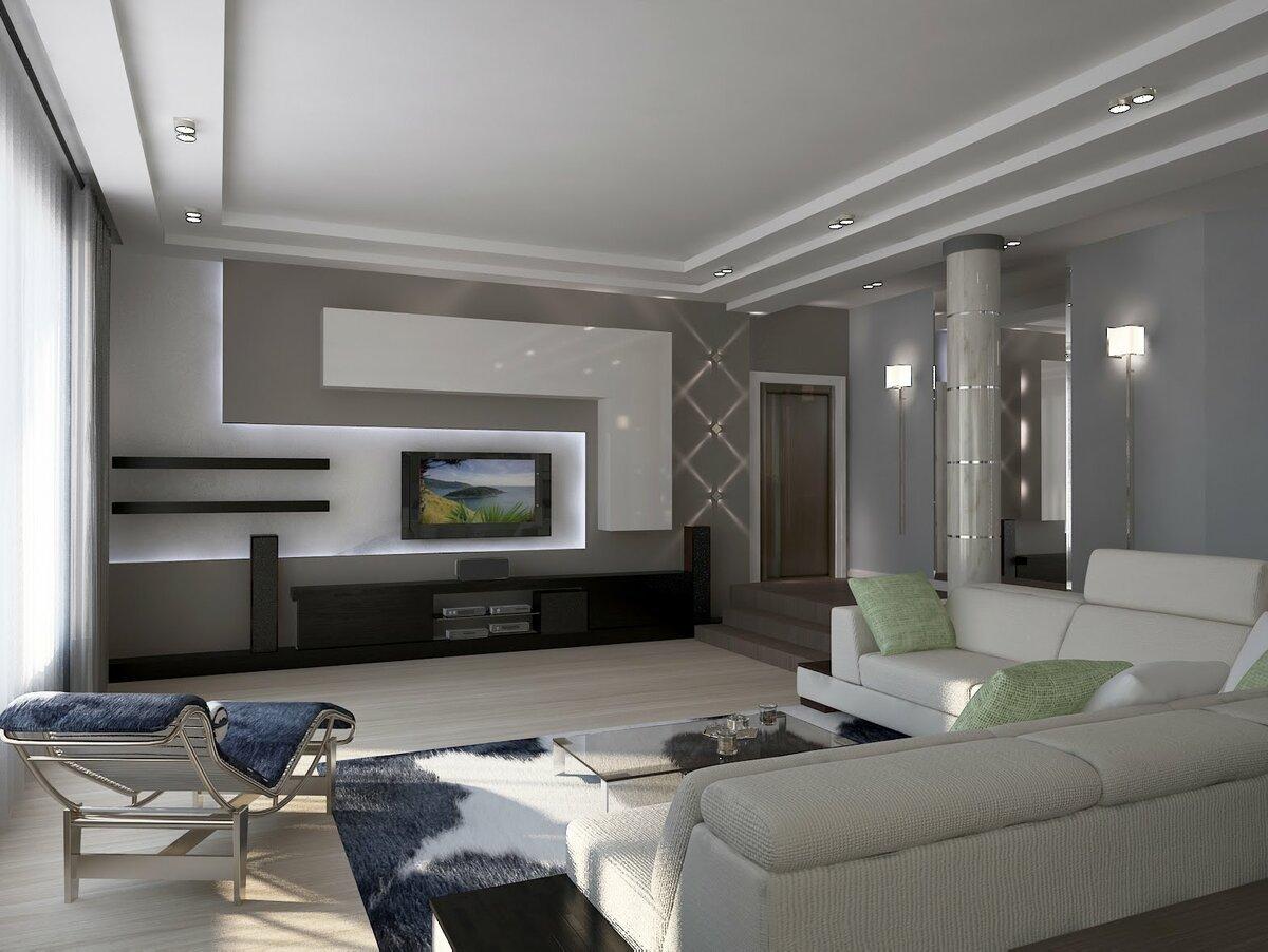 Дизайн гостиной — фото лучших идей интерьера гостиной